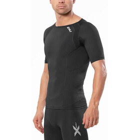 2XU Compression S/S Top Men Black/SIL